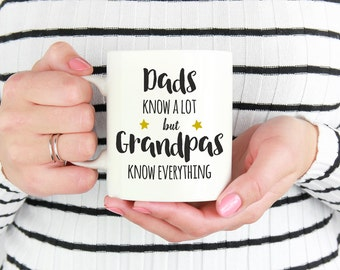New Grandpa Mug, Grandpa Gift, Gift For Grandpa, Grandfather Mug,Pregnancy Reveal, New Grandpa Gift, Grandpa Birthday Gift,Fathers Day Gift