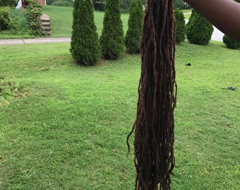 Human hair dreadlock extensions- Very Long