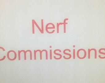 Nerf Commissions