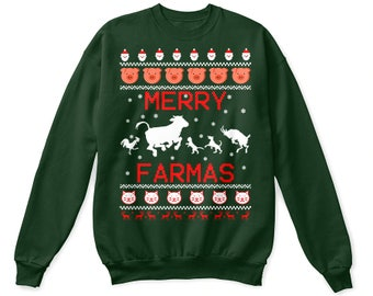 Farm shirt, famr gift, farm christmas shirt, farm christmas sweater, farm ugly shirt, farm lover shirt, shirt for farmer, farmer shirt funny