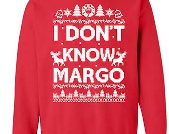 I Don T Know Margo Etsy
