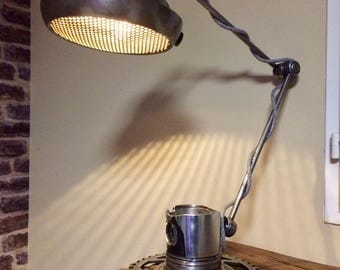 Designer lamp / industrial style desk lamp / industrial lamp