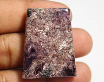 Natural Charoite Cabochon {35 X 26}mm 65Ct #2161
