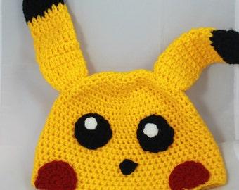 Pikachu Hat / beanie Pikachu