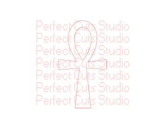 Egyptian Ankh Symbol of Life and Immortality SVG and Studio 3 Cut File Egyptian Symbols Logo Files Cricut Silhouette Downloads SVGs Cutouts