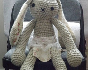 Crochet Bunny Rabbit soft toy