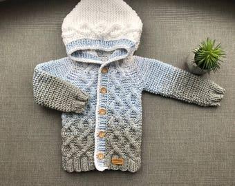 baby kapuzen pullover stricken baby pullover stricken baby. Black Bedroom Furniture Sets. Home Design Ideas