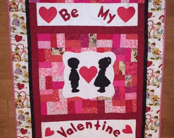 Be My Valentine Wall-hanging Quilt