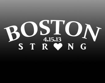 Boston Strong Sticker Decal