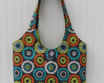 Boho Tote Bag in Pippi Aspen