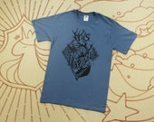 """Final Print Run // Hannibal Shirt // Will Graham """"This is My Design"""" Nightmare Stag Shirt //  Denim Blue //  Available in Plus Sizes"""