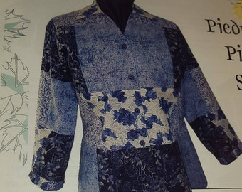 Pieced Shirt Pattern, by Brensan Studios, Shirt Club Pattern
