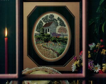 AN ORDINARY SPRING Williamsburg Series #10 Ronnie Rowe Counted Cross Stitch Pattern Virginia