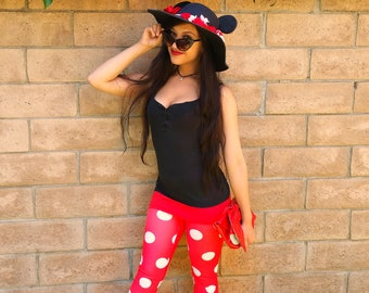 Pre-order Minnie Mouse inspired Mouse Ears Sun Hat