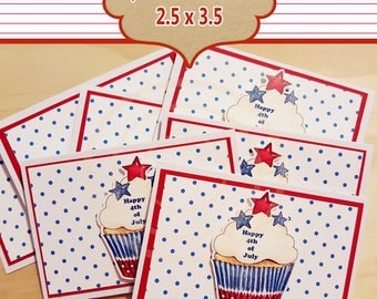 Military Service thank you favor tags thank you cards patriotic 4th of July tags military favor tags thank you for your service tags