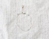 Silver Chain Bracelet for...
