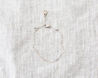 Silver Chain Bracelet for Women-Sterling Silver Bracelet-Minimalist Bracelet-Delicate Bracelet-Layering Bracelet-Gift for Her-Gifts Under 50