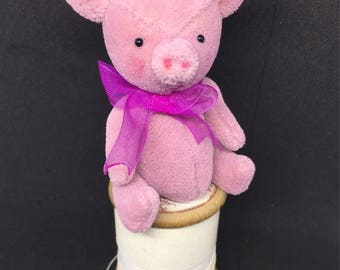 Pinky - one of a Kind Miniature Artist Bear (Pig)