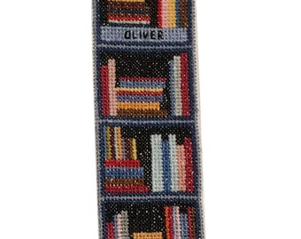 Cross Stitch Personalised Bookmark Pattern