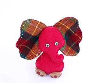 Elephant toy, Little elephant doll, Soft toy elephant, Child friendly elephant, fabric toy, Nursery Decor, Soft toy READY to SHIP