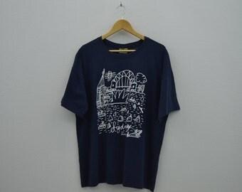 Ken Done Shirt Men Size M Vintage Ken Done T 90s Ken Done Vintage Relaxed Art T Made in Australia