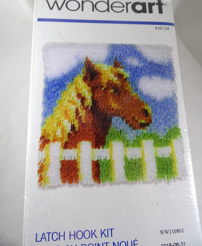 Wonder Art Latch Hook Rug Kit Pony Free Shipping USA From