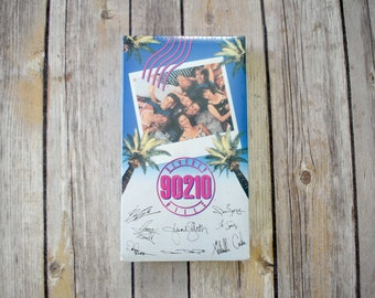 on sale! 1990 BEVERLY HILLS 90210 VHS Sealed // Movie Tv Show / Unopened Luke Perry Jason Priestley Shannen Doherty Jennie Garth Ian Ziering