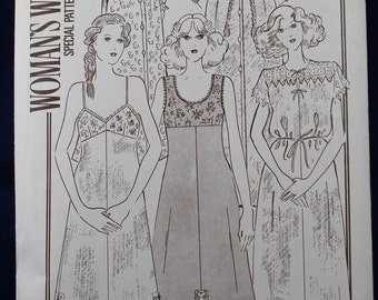 Sewing Pattern for a Woman's Nightdress & Underwear in Size 12-14 - Woman's Weekly B762