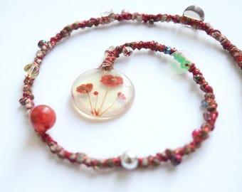 Cherry Blossom Dreadlock Extension | Hair Wrap | Fae Braid