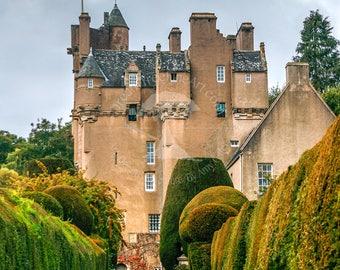 Scottish castle etsy for Garden offices for sale scotland