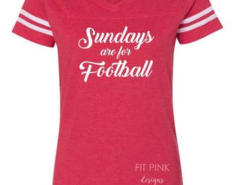Sundays Are For Football Shirt, Football Jersey, Jersey Tee, Football Shirts, Personalized Football Tshirt, Football Sunday, Game Day Shirts