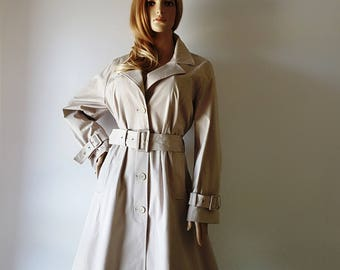 Persona by Max Mara Waterproof Raincoat Regenmantel Authentic of the early ' 80 Made in Italy