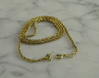 "14K Gold Neck Chain (18"")"
