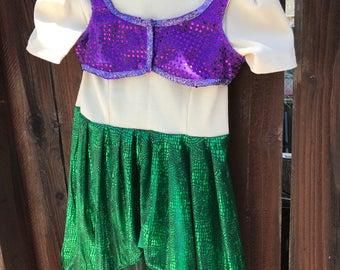 Ariel Costume 2T/3T