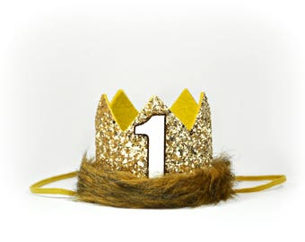 Max Crown | Where The Wild Things Are | Boy Birthday Crown | Max Birthday Crown | Jungle Birthday Party | Safari Birthday Party