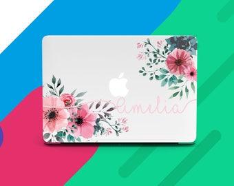 Personalized MacBook Pro 2017 Case MacBook Air 13 Custom MacBook 12 Floral MacBook Pro 13 Case MacBook Air 11 Flowers MacBook Retina CGD2008