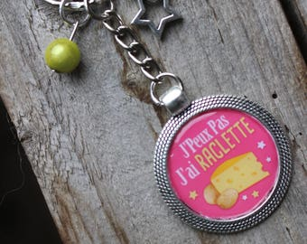 Keychain - I can not squeegee yellow and pink - gift to offer or afford