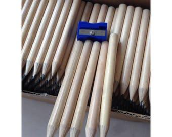 short wooden pencil 360pcs