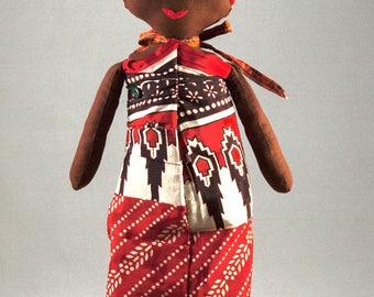 African Handmade Rag Doll