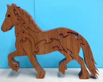 TROTTING HORSE PUZZLE