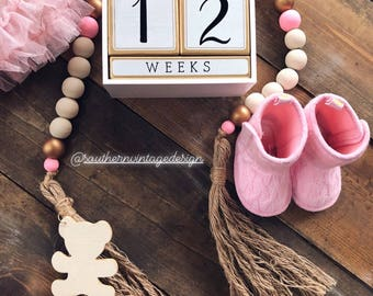 Southern Vintage Nursery Beads