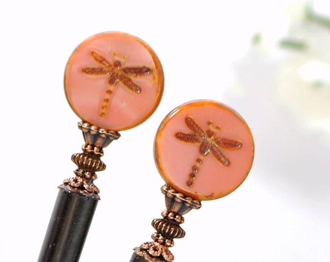 Dragonfly Hairstick Small Hair Stick Hair Chopsticks