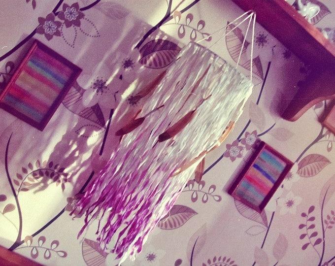 Boho Baby Mobile - Dreamcatcher Nursery Decor - Dream Catcher Mobile - Bohemian Bedroom - Crib Mobile - Modern Nursery Decor - Ready to Ship