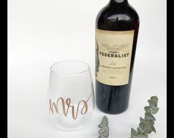 Mrs Wine Glass