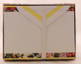 New! Vintage Windsor Browne Stationery Set. 20 Sheets and 14 Envelopes. W19205