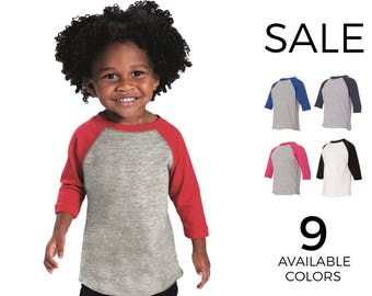 Toddler Baseball Fine Jersey Tee - Rabbit Skins