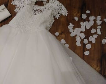 Rose petals upcycled from old WEDDING GOWNS! Free Shipping to U.S.