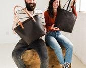 Espresso Tote SALE 70%  --- Full-Grain Espresso Leather Tote Bag • HUGE Sale • Quantities Limited, Don't Delay!