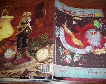 Vintage Santa Claus Sampler Painting Book