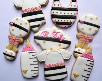 Kate Spade Baby Cookies for a boy/girl